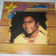 Charley Pride - The Hits Of Charley Pride _ vinyl, LP, compilatie, Germania - Muzica Country rca records, VINIL