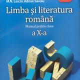 LIMBA SI LITERATURA ROMANA MANUAL PENTRU CLASA A X-A - A. Costache, F. Ionita - Manual scolar, Clasa 10