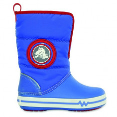 Cizme pentru copii Crocs Light Gust Boot Varsity Blue (CRC13900-PAR) - Cizme copii Crocs, Marime: 34.5, Culoare: Albastru