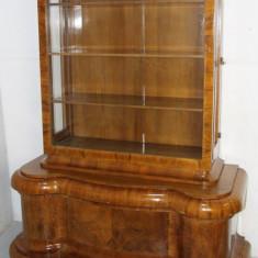 Vitrina Vintage Stil Biedermeier; Biblioteca; Bufet; Comoda; Servanta; Dulap, Comode si bufete, 1900 - 1949