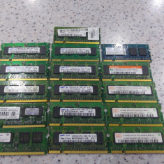 Lot 16 memorii laptop 512Mb ddr2, se vand la pretul final. - Memorie RAM laptop Kingston, 667 mhz, Dual channel