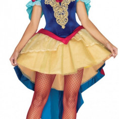 P316 Costum Halloween Alba ca Zapada, Marime: M