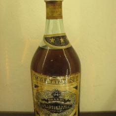 Brandy martinazzi, torino, distillato vini bianchi scelti, l.1 gr. 40 ani1948 - Cognac