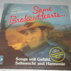 Don Williams - Some Broken Hearts... _ vinyl, Lp, Germania - Muzica Country Altele, VINIL