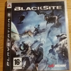 PS3 Blacksite - joc original by WADDER - Jocuri PS3 Altele, Shooting, 16+, Single player
