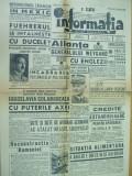 Informatia 15 decembrie 1940 reconstructie Romania Horia Sima Chisinau Balti