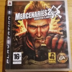 PS3 Mercenaries 2 World in flames - joc original by WADDER - Jocuri PS3 Electronic Arts, Actiune, 16+, Single player