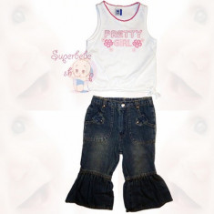Costum cu blugi Pretty Girl - Haine copii