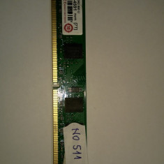 Memorie RAM 1GB DDR2 PC desktop Transcend 800MHZ ( 1 GB DDR 2 ) (NO511)