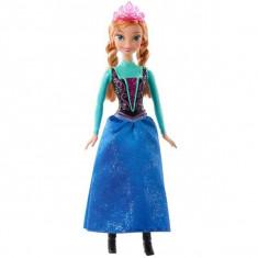 Printesa Disney Frozen - Anna din Arendelle CFB81 Mattel - Papusa Mattel, 4-6 ani, Plastic, Fata
