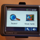 "GPS Garmin Nuvi 200 Display 3.5"" Harta Europei 2017 - Suport + Cablu Originale, Toata Europa, Car Sat Nav"