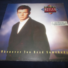 Rick Astley ‎– Whenever You Need Somebody _ vinyl(LP, album) Germania (synth-pop) - Muzica Dance Altele, VINIL