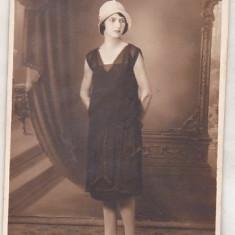 bnk foto - Portret de domnisoara - Foto-Lux Ploesti 1930