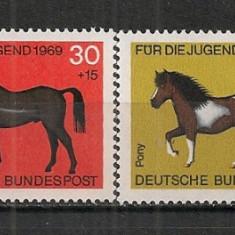 Germania.1969 Pentru tineret:Cai  SG.291