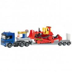 Camion Mercedes cu trailer si buldozer 3414805 Dickie