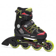Role copii FILA X-One red/lime, Negru