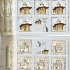 ROMANIA 2008 LP 1809 h, EMISIUNE COMUNA ROMANIA-RUSIA MINIC. 8 TB+2 VG MNH - Timbre Romania, Nestampilat