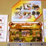 Lot Set Colectie 4 colite CAINI RASE CATEI ANIMALE FAUNA 2+1 gratis RBK19871