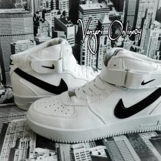 Ghete Nike Air Force One - Adidasi barbati Nike, Marime: 43, Culoare: Din imagine