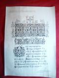 Afis Expozitia Evolutia Tiparului in Romania Bucuresti 1968