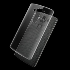 Husa LG V10 silicon subtire transparenta - Husa Telefon, Argintiu