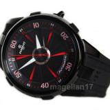 Perrelet Turbine XL Racing Red-Black Swiss Valjoux ! ! Cutie Cadou ! ! ! - Ceas barbatesc, Lux - elegant, Mecanic-Automatic, Inox, Cauciuc, Analog