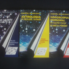 GABRIEL MIHAILOVICI - ABC-UL ASTROLOGIEI 3 volume - Carte Hobby Astrologie Altele