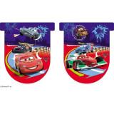 Banner stegulete Cars 2 - Decoratiuni petreceri copii