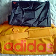 Geanta adidas Teambag Orange L47XH25Xl20cm cu geanta toaleta inclusa L39xl29cm - Geanta Dama Adidas, Marime: Alta, Geanta sport