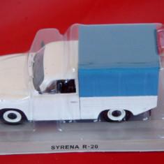 LOT 15 - Machete Syrena R-20 + Spyker C12 Spyder scara 1:43 - Macheta auto
