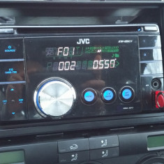 Cd player JVC KW-XR411 mp3 și usb - CD Player MP3 auto