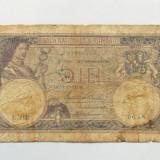 5 LEI 19 SEPTEMBRIE 1929 -BANCNOTA CIRCULATA - Bancnota romaneasca