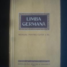 LIMBA GERMANA MANUAL PENTRU CLASA X - Curs Limba Germana Altele