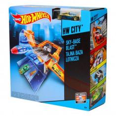 Jucarie Pista Hot Wheels- Sky Base Blast CDM29 Mattel - Masinuta