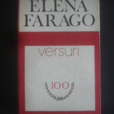 ELENA FARAGO - VERSURI - Carte poezie