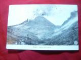 Ilustrata Napoli - Crater Vezuviu - Vulcanul care erupe, Necirculata, Fotografie