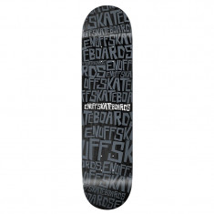 "Deck Skateboard Enuff Scramble 7, 75"" Black"
