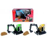 Mini excavator 3414470 Dickie - Vehicul