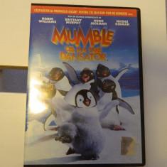 DVD Mumble- cel mai tare dansator, Happy Feet, castigator de Oscar, 104 minute - Film animatie, Romana
