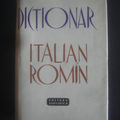 DICTIONAR ITALIAN ROMAN 60000 cuvinte - Curs Limba Italiana