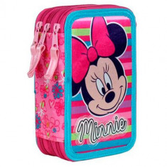 Penar triplu echipat Minnie Mouse Pink