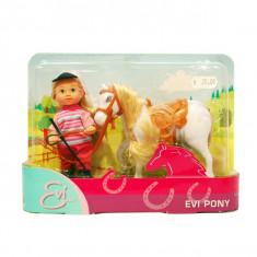 Papusa Evi cu ponei 5737464 Simba, 4-6 ani, Plastic, Fata
