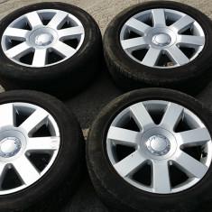 Jante aliaj R16 5x100 VW Golf 4 / Skoda / Seat ORIGINALE - Janta aliaj Audi, Latime janta: 7, Numar prezoane: 5