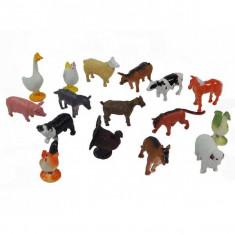 Jucarie Set mini animale si pasari domestice - Figurina Animale