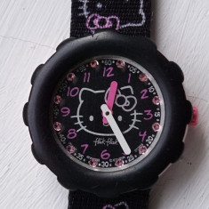 Ceas swatch flik flak model hello kitty - Ceas copii
