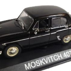 LOT 12 - Machete Moskvitch 407 + Wolga GAZ M-22 scara 1:43 - Macheta auto