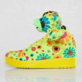 Adidasi Originali ADIDAS JEREMY SCOTT JS BEAR FLOWER, Noi in Cutie, Autentici !, 43 1/3, 44, 45 1/3, Textil