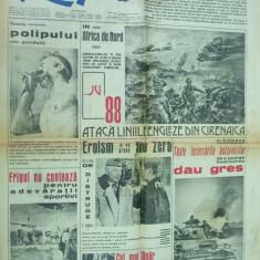 Rapid 8 martie 1942 Miron Cristea femei ortodoxe Bucovina Moliere cauciuc polip - Ziar