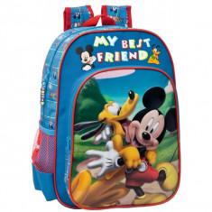 Ghiozdan Mickey si Pluto Friends