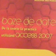 Baze de date, de la teorie la practica Acces 2007 - Carte baze de date